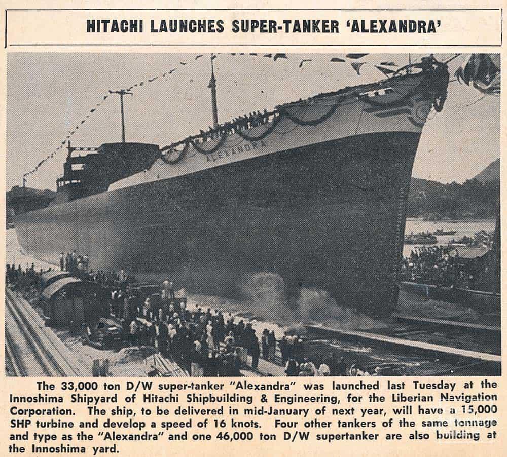 22_ALEXANDRA_1956_press_cutting_Oct_1955