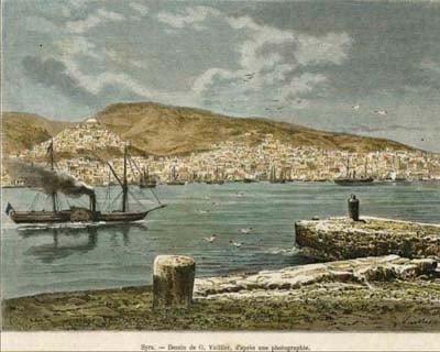 Από τα Ιστία στον Ατμό (1870-1900)